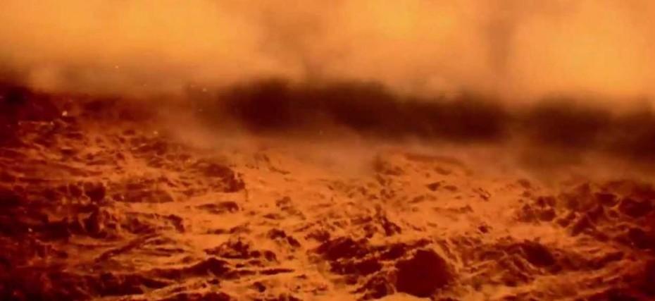 Пилові бурі на Марсі