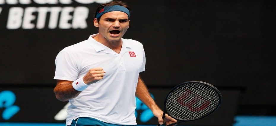 Roger Federer Blazes Into Third Round Of Australian Open 2019 Marks 100th Game On Rod Laver Arena In Style News Nation English