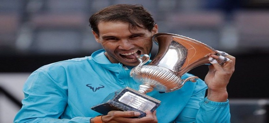Rafael Nadal Defeats Novak Djokovic In Rome Masters Final Gears Up For French Open In Style News Nation English