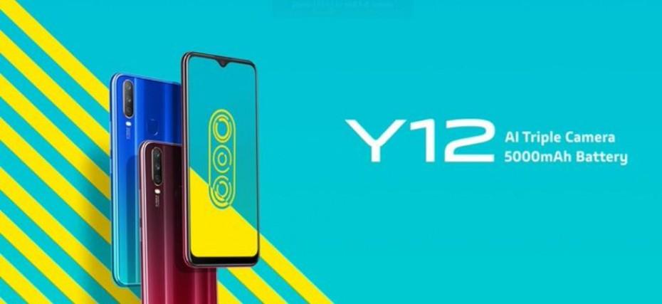 Vivo Y12 With Triple Rear Cameras Mediatek Helio P22 Processor