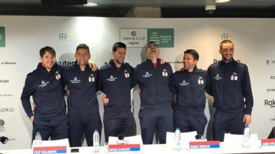 Novak Djokovic Sends Serbia Through As France Knocked Out Of Davis Cup News Nation English