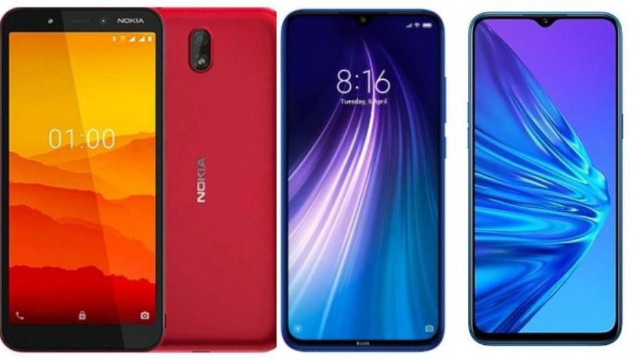 Nokia C1 Vs Redmi Note 8 Vs Realme 5: Specs, Features, Price ...